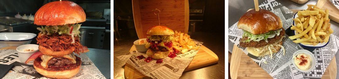 Shrewsbury's favourite burgers